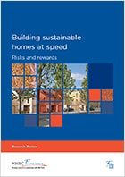 Building sustainable homes at speed
