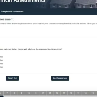 Technical assessment - Gain CPD and demonstrate your technical ability